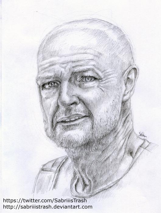 Terry O'Quinn by Sabriii